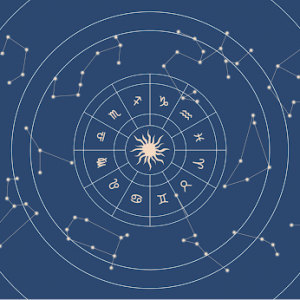 Image depicting birth chart analysis